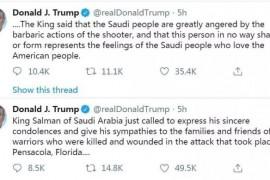 美海军基地枪击案死亡人数持续飙升恐怖局面已失控!