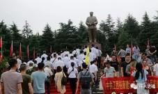 七一建党节,韶山万人参拜毛主席!国人动容!