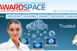 超稳定免费空间awardspace只可惜配置有限